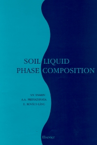 Soil Liquid Phase Composition - 1st Edition - ISBN: 9780444506757, 9780080541389