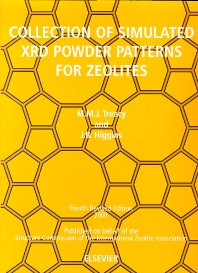 Cover image for Collection of Simulated XRD Powder Patterns for Zeolites
