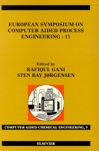 European Symposium on Computer Aided Process Engineering - 11 - 1st Edition - ISBN: 9780444507099, 9780080531298