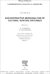 Cover image for Non-destructive Micro Analysis of Cultural Heritage Materials