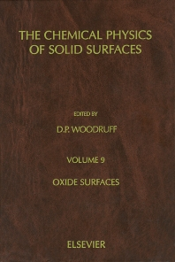 Oxide Surfaces - 1st Edition - ISBN: 9780444507457, 9780080538310