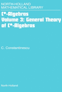 Cover image for General Theory of C*-Algebras