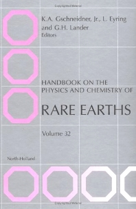 Handbook on the Physics and Chemistry of Rare Earths, 1st Edition,L. Eyring,K.A. Gschneidner,G.H. Lander,ISBN9780444507624