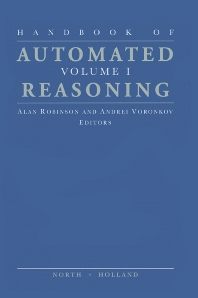Cover image for Handbook of Automated Reasoning