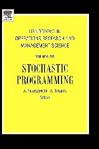 Stochastic Programming, 1st Edition, RUSZCZYNSK,ISBN9780444508546