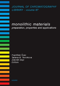 Monolithic Materials, 1st Edition,F. Svec,T.B. Tennikova,Z. Deyl,ISBN9780444508799