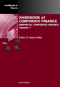 Cover image for Handbook of Corporate Finance