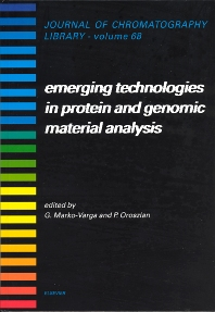 Cover image for Emerging Technologies in Protein and Genomic Material Analysis