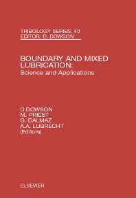 Cover image for Boundary and Mixed Lubrication: Science and Applications