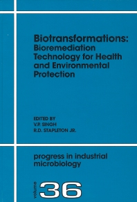 Cover image for Biotransformations: Bioremediation Technology for Health and Environmental Protection