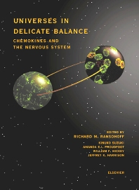 Cover image for Universes in Delicate Balance: Chemokines and the Nervous System