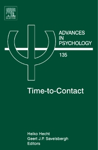 Time-to-Contact, 1st Edition,Heiko Hecht,Geert Savelsbergh,ISBN9780444510457