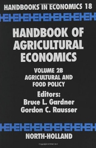 Handbook of Agricultural Economics - 1st Edition - ISBN: 9780444510792, 9780080885896