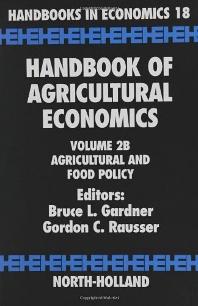 Handbook of Agricultural Economics, 1st Edition,Bruce L. Gardner,Gordon C. Rausser,ISBN9780444510792