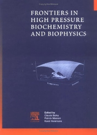 Cover image for Frontiers in High Pressure Biochemistry and Biophysics