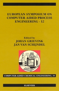 Cover image for European Symposium on Computer Aided Process Engineering - 12
