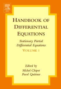 Cover image for Handbook of Differential Equations: Stationary Partial Differential Equations