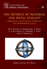 Cover image for The Metrics of Material and Metal Ecology
