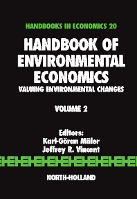 Handbook of Environmental Economics - 1st Edition - ISBN: 9780444511454, 9780080457499
