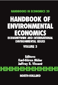 Book Series: Handbook of Environmental Economics