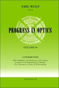 Progress in Optics - 1st Edition - ISBN: 9780444511485, 9780080930183