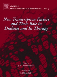 New Transcription Factors and Their Role in Diabetes and Therapy, 1st Edition,Jacob Friedman,ISBN9780444511584