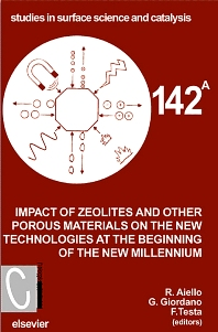 Cover image for Impact of Zeolites and other Porous Materials on the New Technologies at the Beginning of the New Millennium