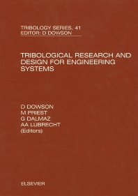 Cover image for Tribological Research and Design for Engineering Systems