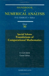 Special Volume: Foundations of Computational Mathematics - 1st Edition - ISBN: 9780444512475