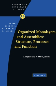 Cover image for Organized Monolayers and Assemblies: Structure, Processes and Function