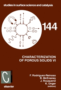 Cover image for Characterization of Porous Solids VI