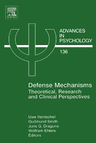 Defense Mechanisms, 1st Edition,Uwe Hentschel,Gudmund Smith,Juris G Draguns,Wolfram Ehlers,ISBN9780444512635