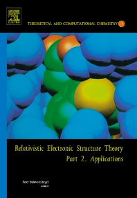 Relativistic electronic structure theory: Applications Peter Schwerdtfeger