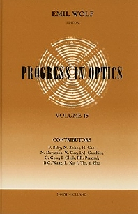 Progress in Optics - 1st Edition - ISBN: 9780444513342, 9780080930336