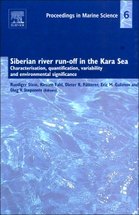 Siberian river run-off in the Kara Sea - 1st Edition - ISBN: 9780444513656, 9780080951423