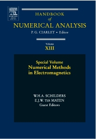 Numerical Methods in Electromagnetics, 1st Edition,W.H.A. SCHILDERS,E.J.W. TER MATEN,ISBN9780444513755
