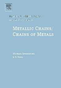 Metallic Chains / Chains of Metals, 1st Edition,Michael Springborg,Yi Dong,ISBN9780444513809