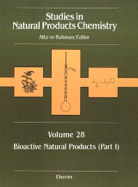 Studies in Natural Products Chemistry, Bioactive Natural Products (Part I), 1st Edition, Atta-ur-Rahman,ISBN9780444514158