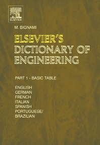 Cover image for Elsevier's Dictionary of Engineering