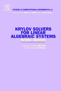 Cover image for Krylov Solvers for Linear Algebraic Systems