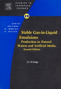 Stable Gas-in-Liquid Emulsions - 1st Edition - ISBN: 9780444537980, 9780444538451