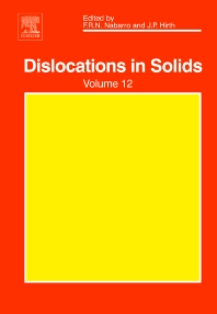 Cover image for Dislocations in Solids