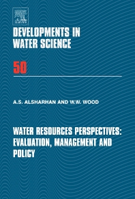Cover image for Water Resources Perspectives: Evaluation, Management and Policy