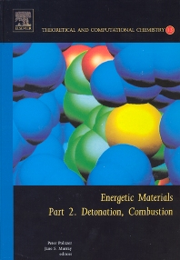 Energetic Materials, 1st Edition,P.A. Politzer,JS Murray,ISBN9780444515193