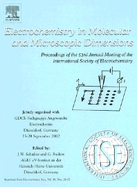 Cover image for Electrochemistry in Molecular and Microscopic Dimensions