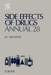 Side Effects of Drugs Annual, 1st Edition,Jeffrey K. Aronson,ISBN9780444515711