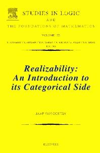 Realizability, 1st Edition,Jaap van Oosten,ISBN9780444515841