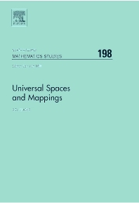 Universal Spaces and Mappings, 1st Edition,S.D. Iliadis,ISBN9780444515865