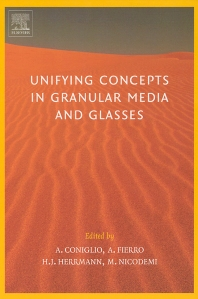 Cover image for Unifying Concepts in Granular Media and Glasses