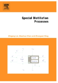 Cover image for Special Distillation Processes
